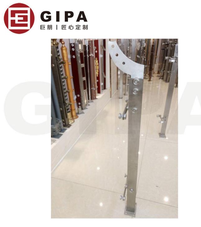 304不锈钢立柱 玻璃栏杆护栏 地铁景观栏杆立柱_建企商盟-建筑建材产业的云采购联盟平台