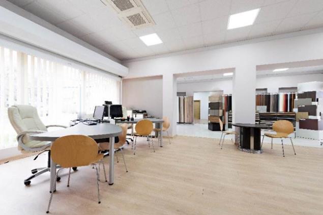 塑胶地板办公室装修亮瞎了眼睛_建材新闻