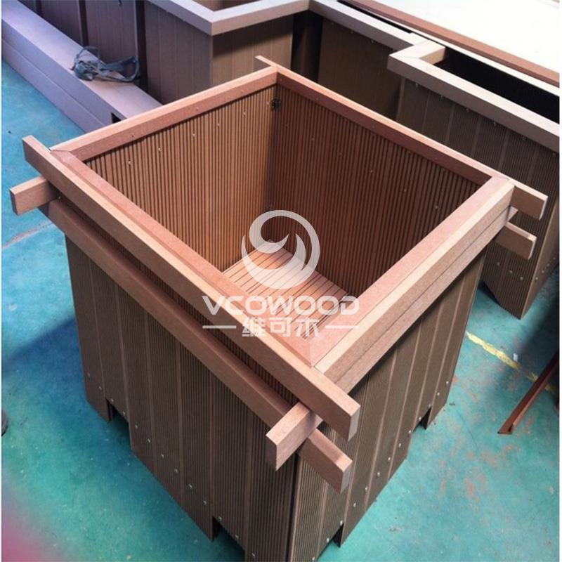 HX1001塑木花箱_建企商盟-建筑建材产业的云采购联盟平台