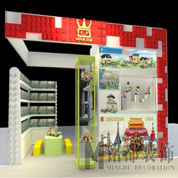 七喜人玩具店面装修工程_建企商盟-建筑建材产业的云采购联盟平台