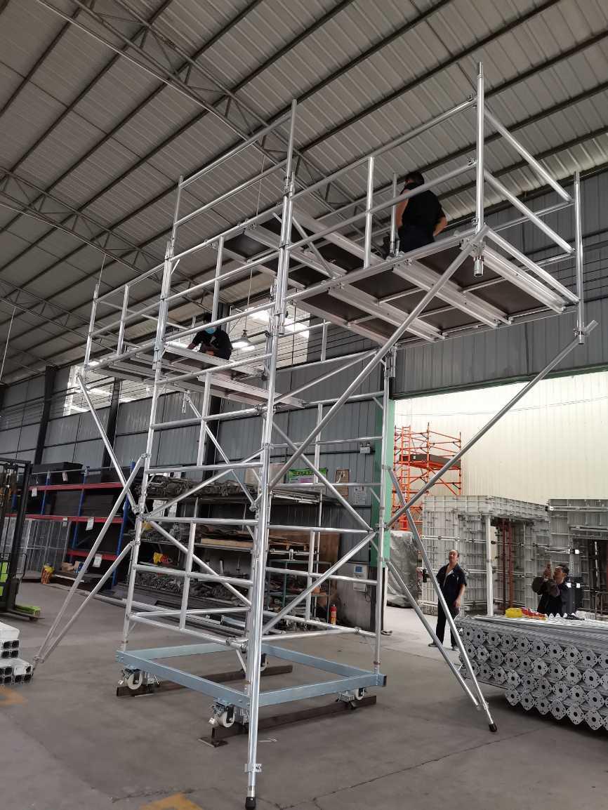 盘扣式多功能轨道架 单管式设计 适应复杂轨道施工环境_建企商盟-建筑建材产业的云采购联盟平台
