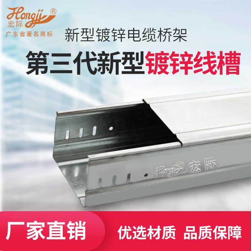 第三代新型镀锌线槽桥架80*100*0.8_建企商盟-建筑建材产业的云采购联盟平台