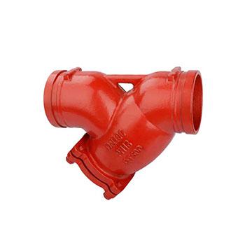 沟槽式Y型过滤器GL81H-10/16_建企商盟-建筑建材产业的云采购联盟平台