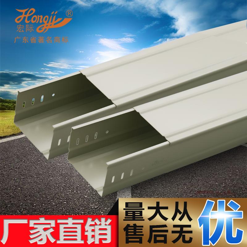 第三代新型喷涂线槽桥架100*100*0.8_建企商盟-建筑建材产业的云采购联盟平台