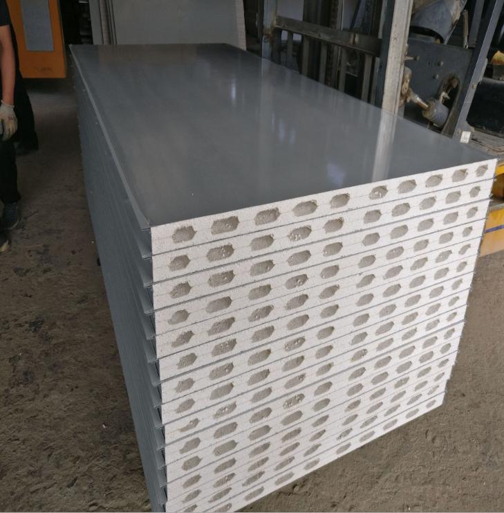硫氧镁夹芯板 中空彩钢板 厂家直销 防火中空彩钢板批发_建企商盟-建筑建材产业的云采购联盟平台