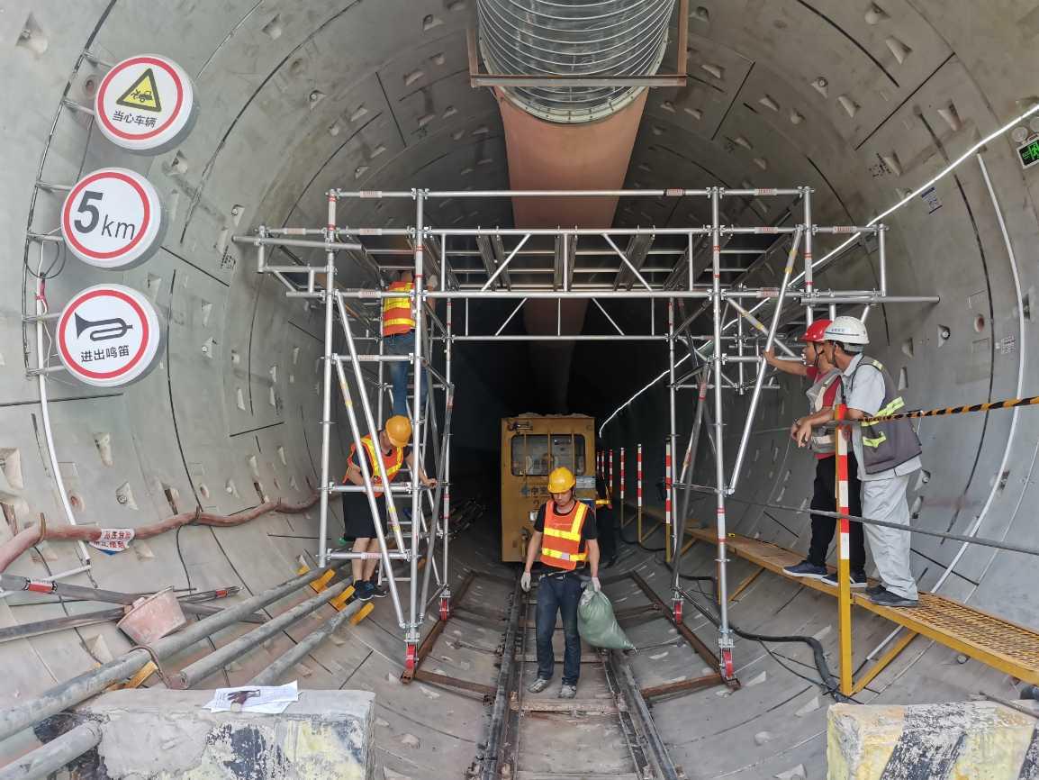 隧道施工架 轻型铝合金组合施工作业架 搭拆便捷_建企商盟-建筑建材产业的云采购联盟平台