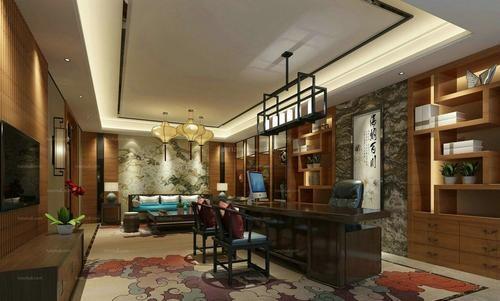 中式风格办公室装修需要注意的点_建企商盟-建筑建材产业的云采购联盟平台