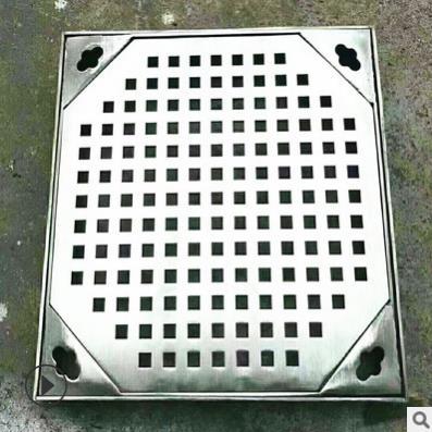 厂家定制304不锈钢电力通信井盖排水沟隐形雨水盖板直销_建企商盟-建筑建材产业的云采购联盟平台