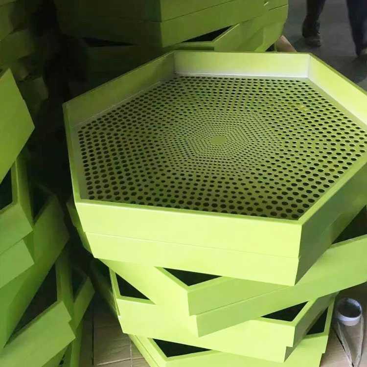 冲孔六边形铝单板吊顶定制_建企商盟-建筑建材产业的云采购联盟平台