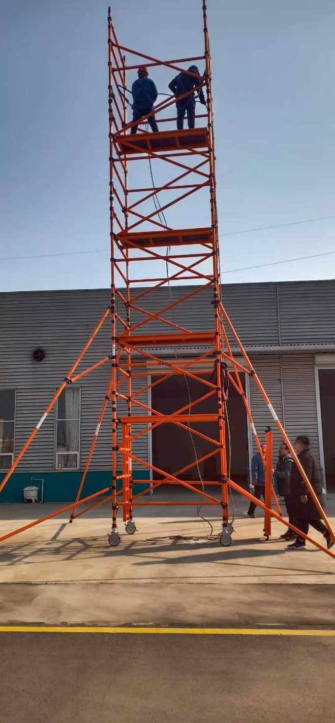 玻纤脚手架 绝缘不导电 品质优 稳固简单快捷_建企商盟-建筑建材产业的云采购联盟平台